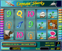 Captain Sharky screenshot
