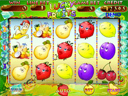 Lucky Fruits screenshot