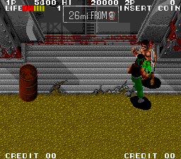 Ikari III - The Rescue screenshot