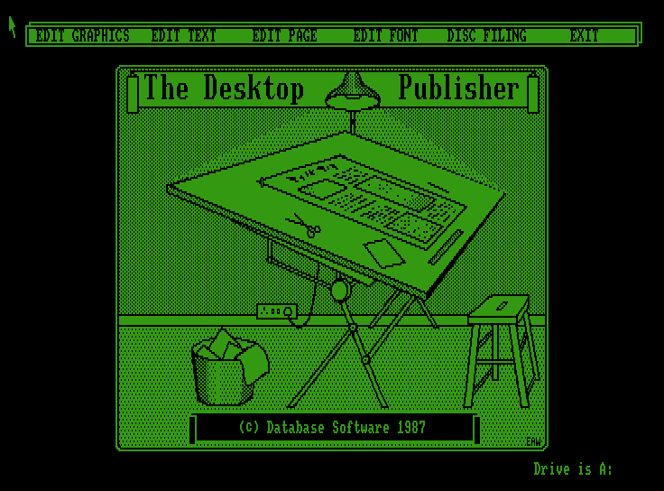 The Desktop Publisher screenshot