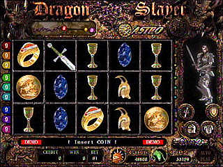 Dragon slayer slot machine