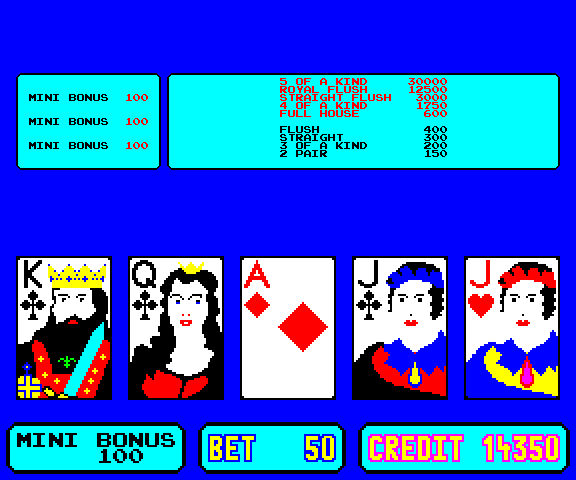 Poker Pharaoh screenshot