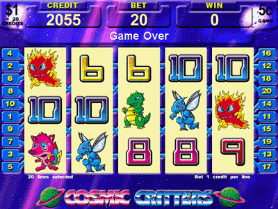 Cosmic Critters screenshot