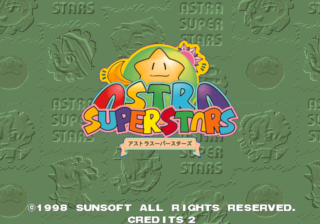 Astra SuperStars [Model 610-0374-90] screenshot