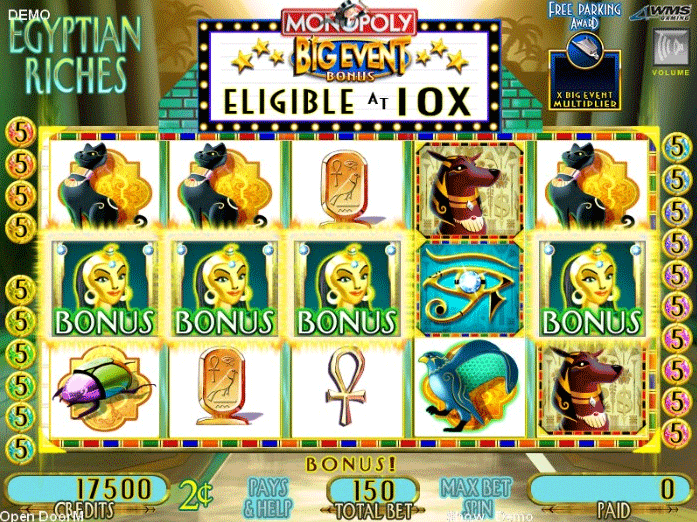 Egyptian Riches [Monopoly - Big Event] screenshot
