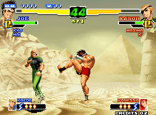 The King of Fighters 2000 [Model NGM-257] screenshot