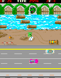 Lady Frog screenshot