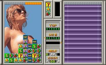 Las Vegas 94 >> Las Vegas Girl Girl 94 Arcade Video Game By Comad