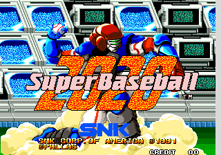 2020 Super Baseball [Model NGM-030] screenshot