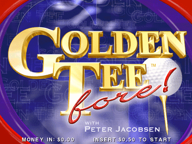 Golden Tee Fore! screenshot