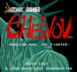 Atomic Runner Chelnov - Nuclear Man, The Fighter screenshot