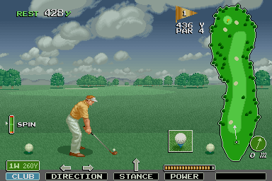 Major Title screenshot