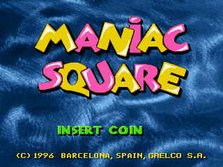 Maniac Square screenshot