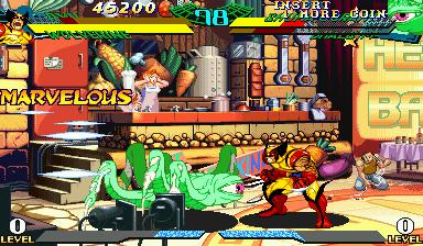 Marvel Super Heroes vs. Street Fighter capcom cps-ii cart ...