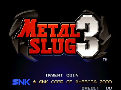 Metal Slug 3 [Model NGM-256] screenshot