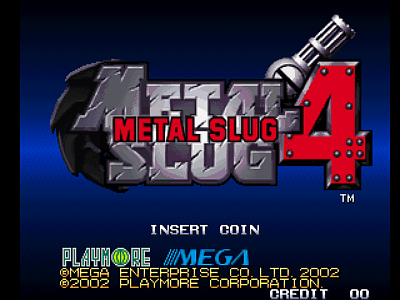 Metal Slug 4 [Model NGM-263] screenshot