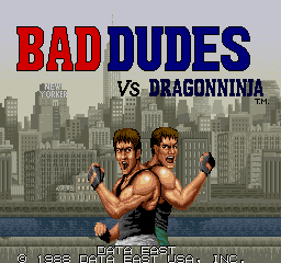 Bad Dudes vs. Dragonninja [Model 1US34] screenshot