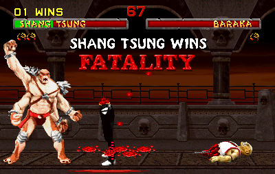 Mortal Kombat II screenshot