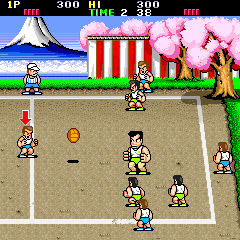 Nekketsu Koukou Dodgeball-bu [Model TA-0022] screenshot