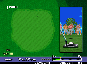 Big Tournament Golf [Model NGM-200] screenshot