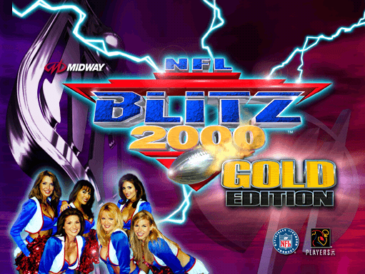 NFL Blitz 2000 Gold Edition screenshot