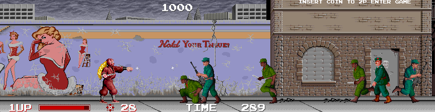 The Ninja Warriors screenshot