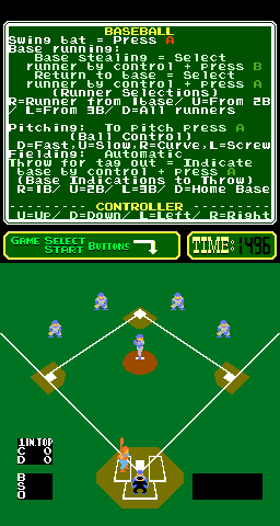 Base Ball [Model PCH1-R-BA] screenshot
