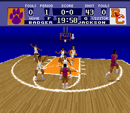 NCAA Basketball screenshot