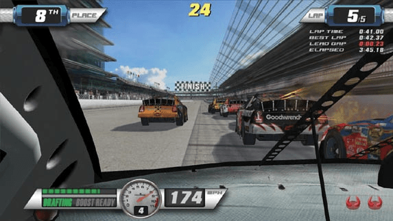 EA Sports NASCAR Racing screenshot