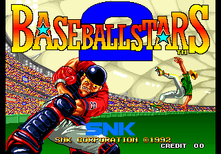 Baseball Stars 2 [Model NGM-041] screenshot