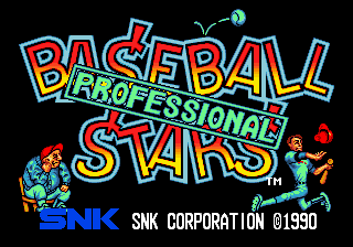 Baseball Stars Professional [Model NGM-002] screenshot