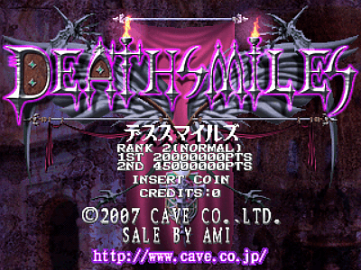 Deathsmiles screenshot