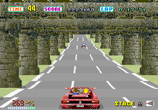 Out Run screenshot