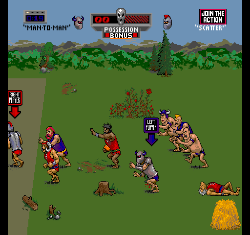 Pigskin 621AD - Ancient Archrivals on a Rampage screenshot