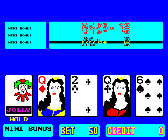 Bonus Pokermania screenshot