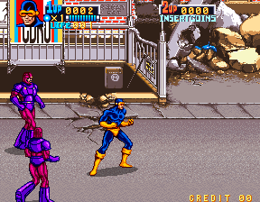 X-Men [2-Player model] screenshot