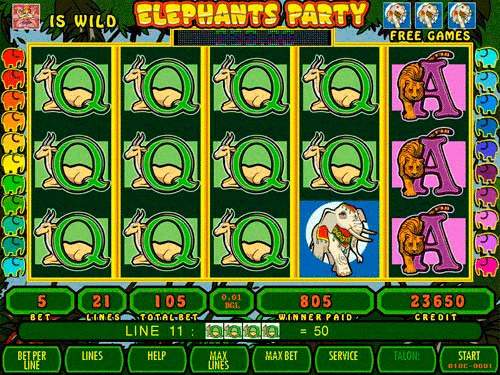 Elephants Party screenshot