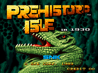 Prehistoric Isle in 1930 screenshot
