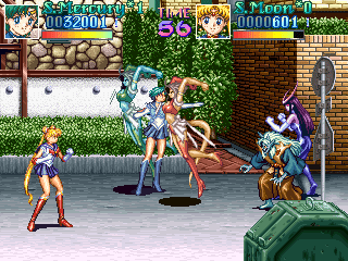 Pretty Soldier Sailormoon screenshot