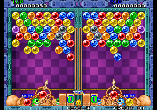 Puzzle Bobble [Model NGM-083] screenshot