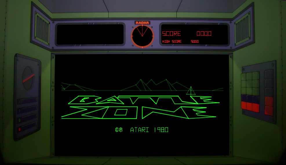 Battlezone [Upright model] screenshot