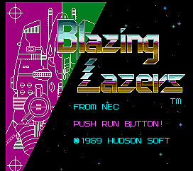 Blazing Lazers [United Amusement PC-Engine] screenshot