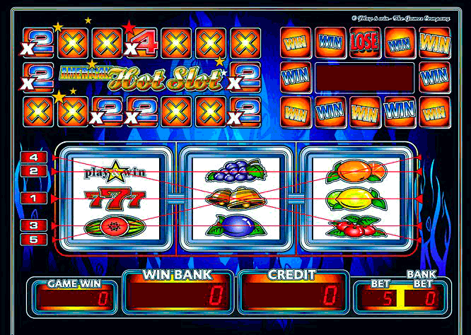 American Hot Slot screenshot
