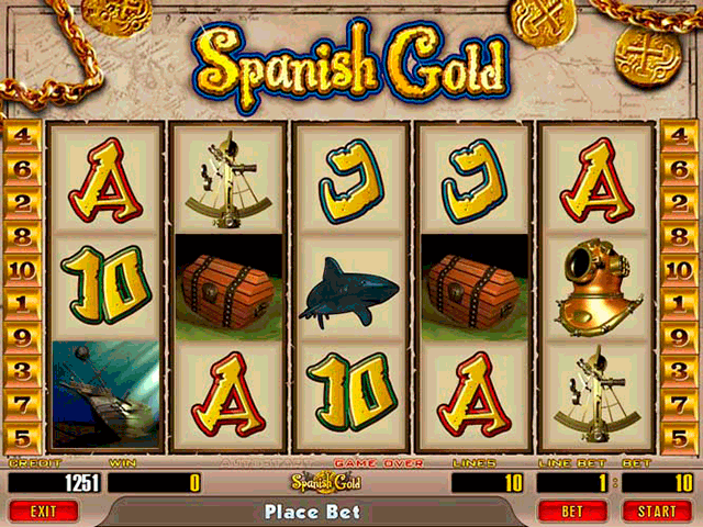 Spanish Gold screenshot