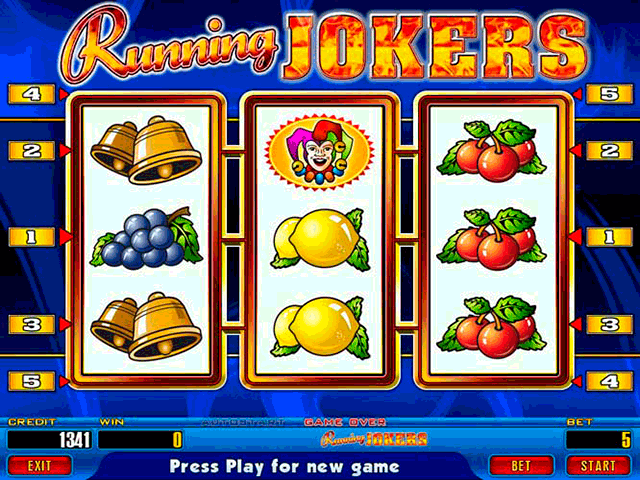 Running Jokers [Video Slot model] screenshot