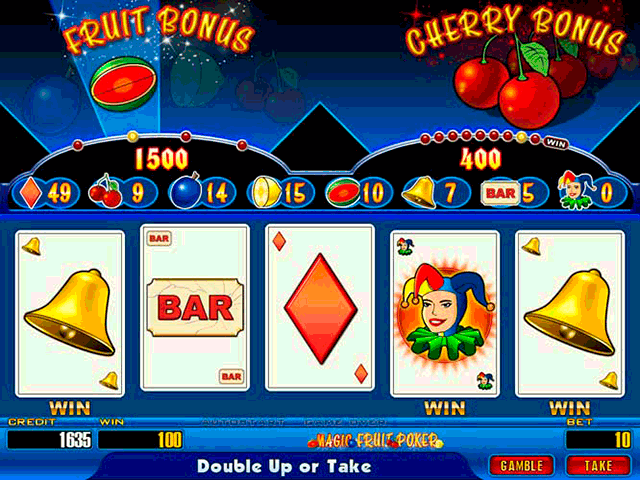 Magic Fruit Poker screenshot