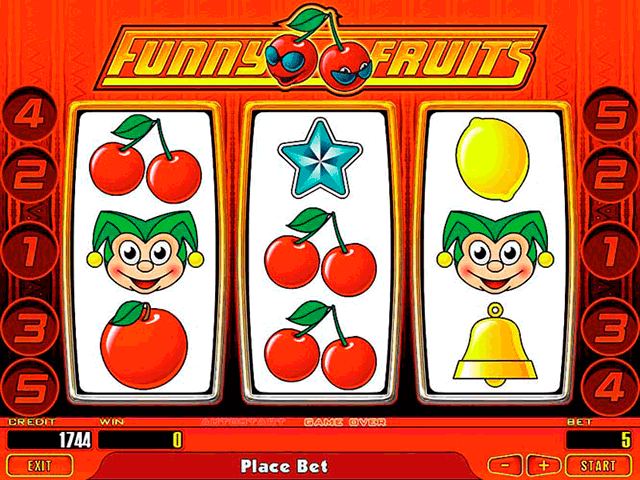 slot machines fruits of ra