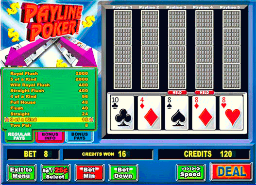 Payline Poker! screenshot