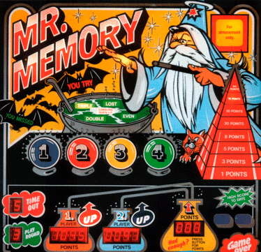 Mr. Memory screenshot