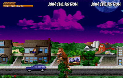 Rampage - World Tour screenshot